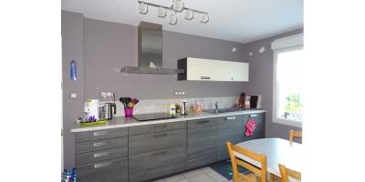 cuisine meublée équipée-four frigo-maison lotissement-seloger-notaire 62-