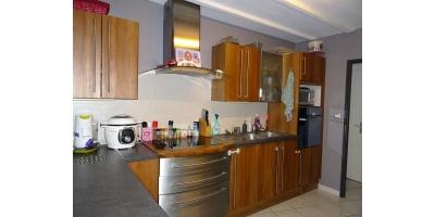 cuisine-evier-four-plaque-inox-recherche maison-
