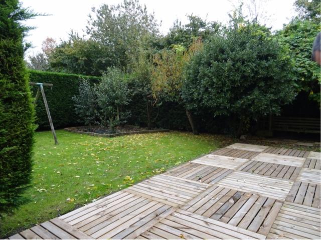 jardin-cloture-dalles bois-parking-bus-bulle-recherche maison a vendre