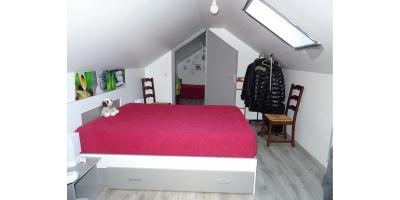 chambre etage-velux-maison brique tuiles-agence immobiliere mericourt