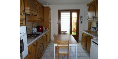 cuisine meublee-four-chauffage gaz- agence immo mericourt