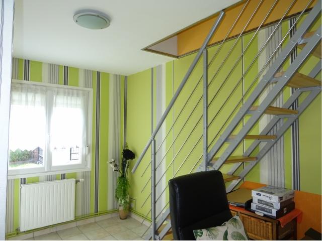 bureua rdc-passage etage-escalier-vente entreparticulier