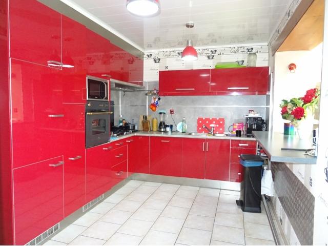 cuisine ouverte-meuble-gaz--leboncoin-pauge jaune -