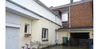 cour,terrasse, garage