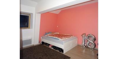 chambre etage-plancher bois-location nord pas de calais-