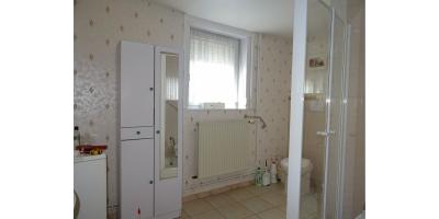 salee de bain -douche-lavabo-chauffage-gaz-